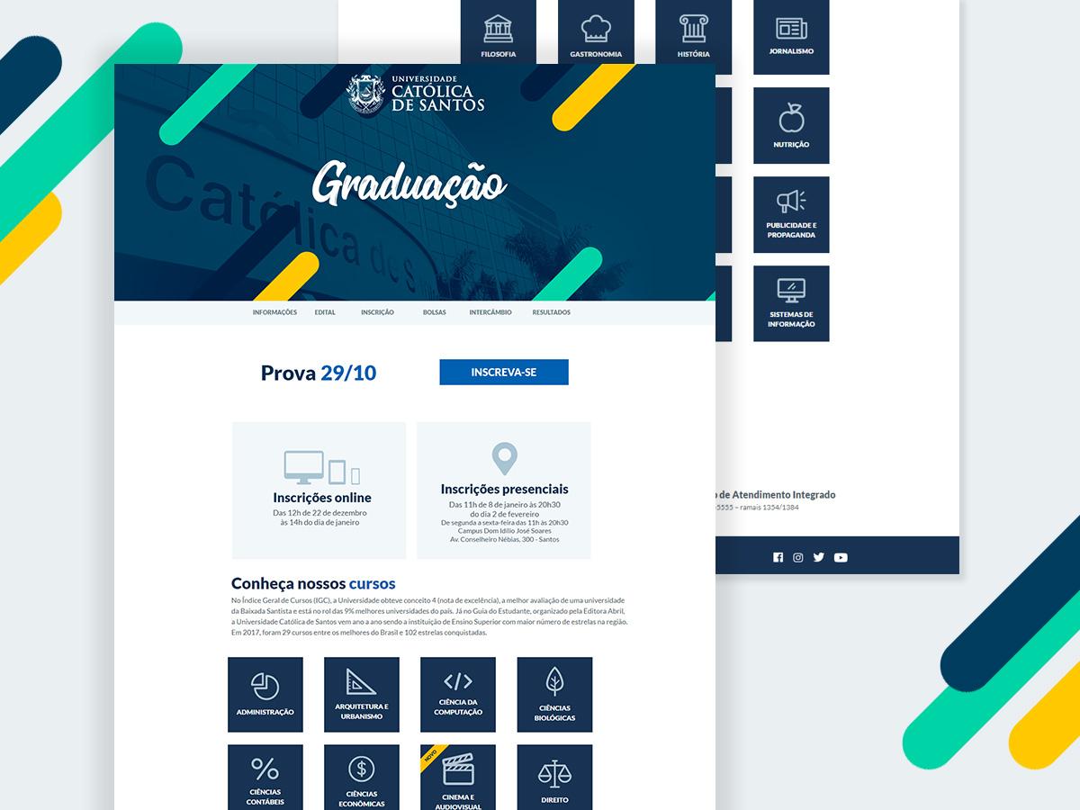 Landing Page ui design ui