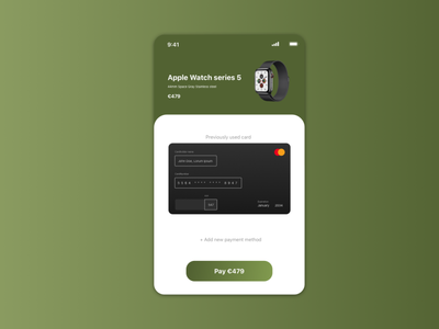 Daily UI #002 / Checkout checkout 002 ux userinterface uidesign dailyuichallenge ui dailyui