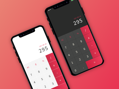 Daily UI Challenge 004 | Calculator designui interface design calculator 004 ux userinterface uidesign dailyuichallenge ui dailyui