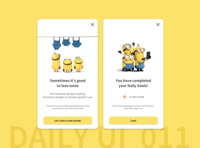 Daily UI Challenge 011 | Flash Message design userinterfacedesign flash message interface designui ux userinterface ui uidesign dailyuichallenge dailyui