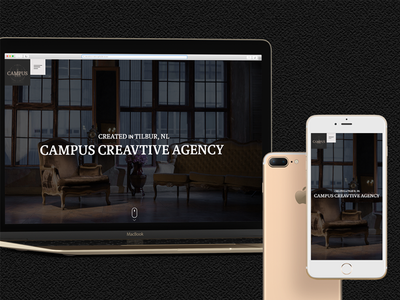 CAMPUS CREATIVE AGENCY company web ui design branding
