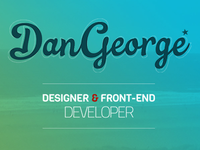 dangeorge.co screenshot