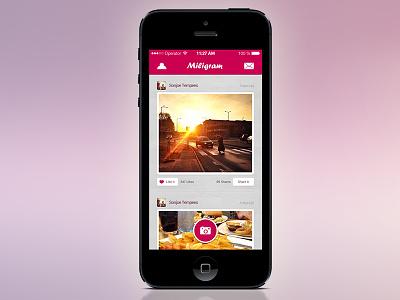 Free Miligram Photo App free design mobile miligram photo app download