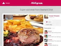 Miligram Photo App