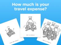Travel Expense Illustrations