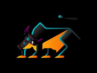Charging Bull colombia illustration nyc newyork toro bull wallstreet