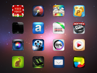 """App icons"" set"