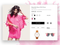 Nordstrom's Product Page Redesign