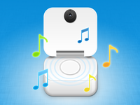 Smart baby Monitor Icon