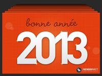 Bonne année 2013 ! (happy new year)