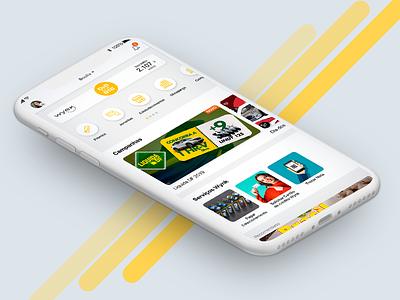 Wynk App redesign webdesign ios interface ui ux app ui app