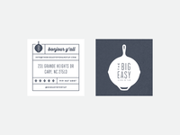 Big Easy Business Cards