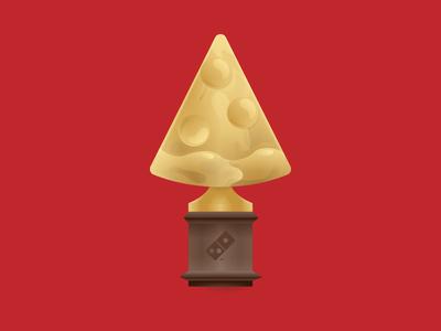 Pizza Statuette movie movies brasil dominos statuette oscar pizza