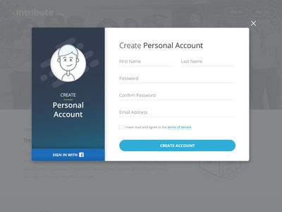 Signup Modal