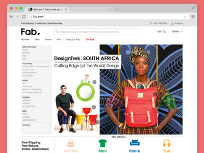 Fab Redesigned