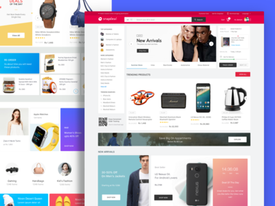 New Snapdeal Website
