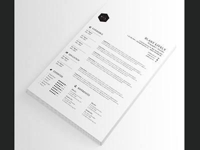 resume cv by madridnyc dribbble