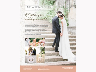 Wedding Flyer By Madridnyc  Dribbble