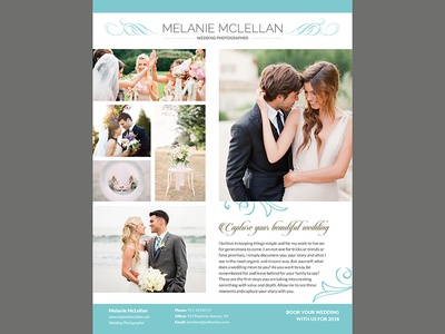 Wedding Flyer By Madridnyc - Dribbble
