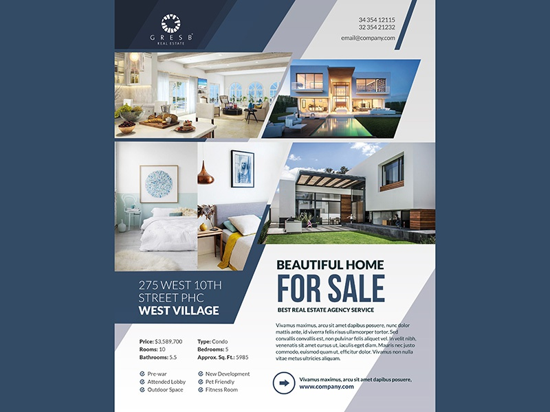 e flyers for real estate