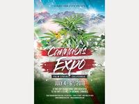 Cannabis Flyer Expo