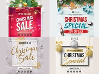 Christmas Special Sales Banners