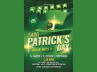 Saint Patricks Day Flyer 2018