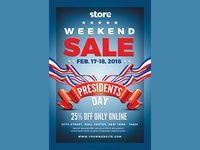 Presidents Day Flyer Sale