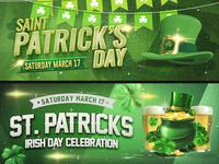 Saint Patrick Facebook Banners