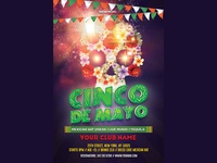 Cinco De Mayo Flyer Party