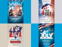 4th July Promo Banners