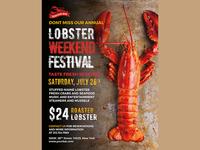 Weekend Festival Flyer