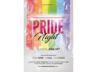 Pride Night Flyer Design