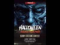 Halloween Horror Night Flyer