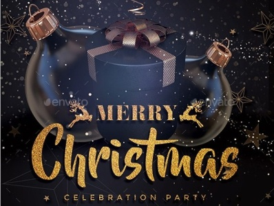 Christmas Party invitation cover