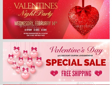 Valentines Facebook Covers
