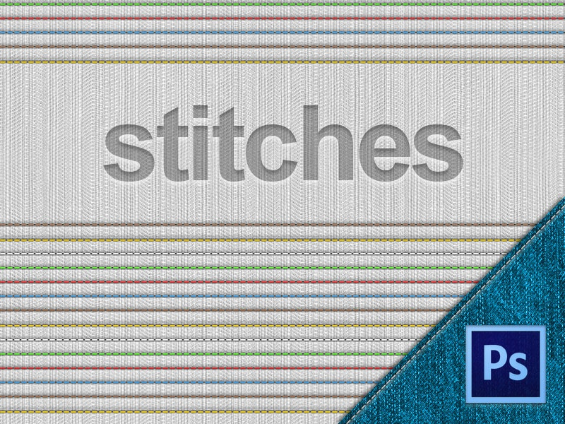 Stitches - Free PSD freebie psd free stitch stitches stand textile denim