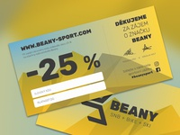 25 % OFF Voucher Beany