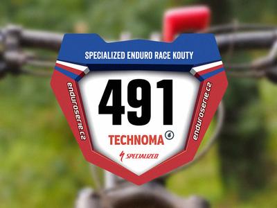Czech Enduro Series Race Numbers