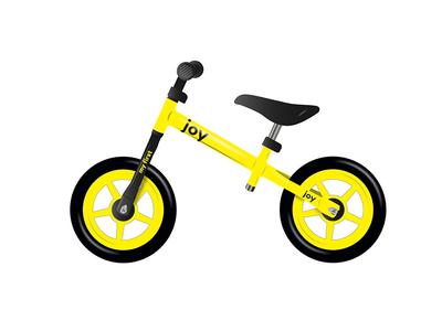 JOY - Kid bike for the smallest product black joy bicycle yellow small bike kid