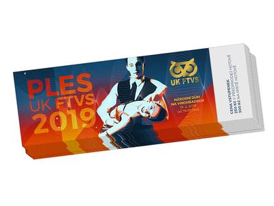 Ticket for UK FTVS ball tisket ftvs ball