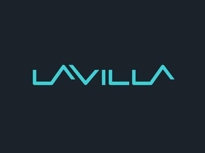 LaVILLA logo lavilla logo jxk realty estate exclusive simple