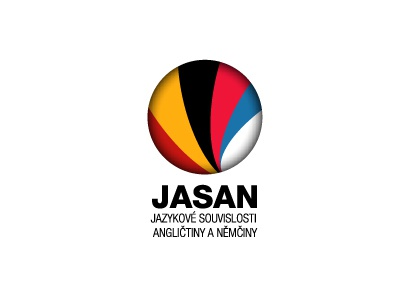 JASAN - Jyzakové souvislosti angličtiny a němčiny jasan logo jxk concept