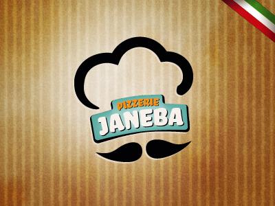 Logo of PIZZERIE JANEBA logo jxk janeba pizza pizzeria