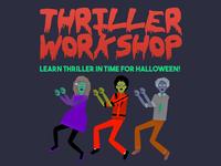 Thriller Workshop Flyer Graphic