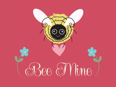 Bee Mine Valentine Greeting