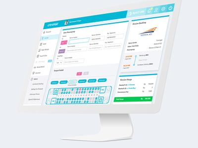 Dashboard Interface - Train Booking (b2b) 1/3