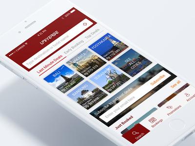 Hotel App iOS 1/3