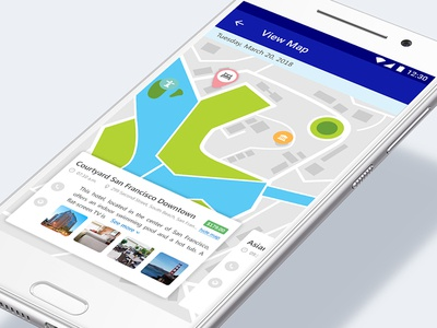 Travel Guide (Itinerary) App UI 2/3