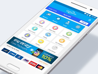 Bill Payments Mobile App 1/3